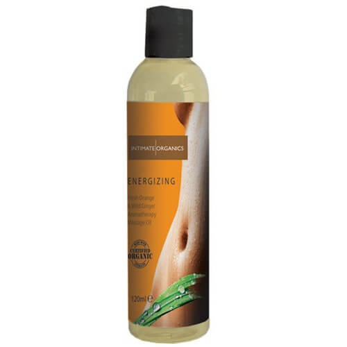 Energising Massage Oil - Fresh Orange and Wild Ginger - 120 ml